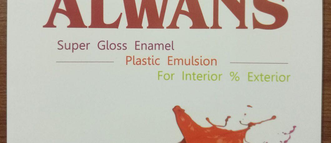 Alwans Super Gloss Enamel